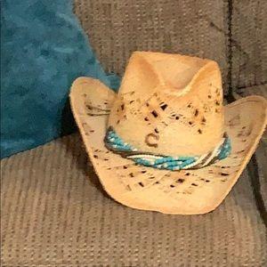 Charlie Horse straw hat